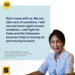 Cebu Province leads the way, conquers ECQs